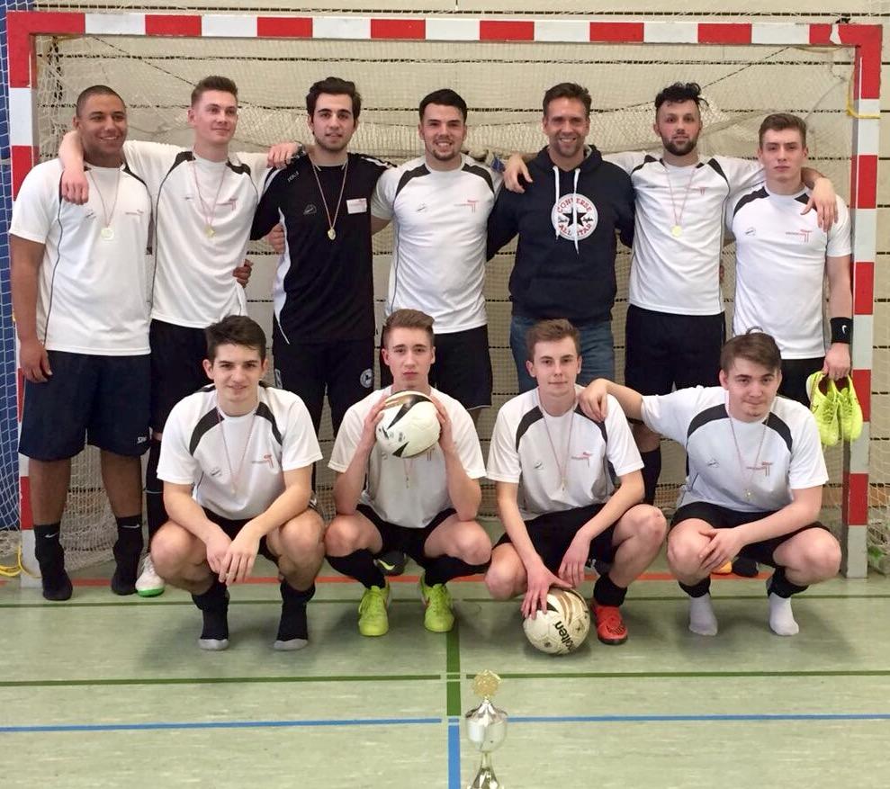 Zum 3. Mail in Folge Berliner Meister im Hallenfußball der berufsbildenden Schulen