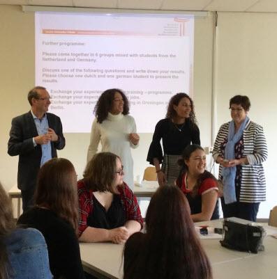 Alfa-College meets Louise-Schroeder-Schule